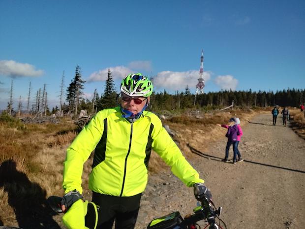 zdjęcie rowerzysty