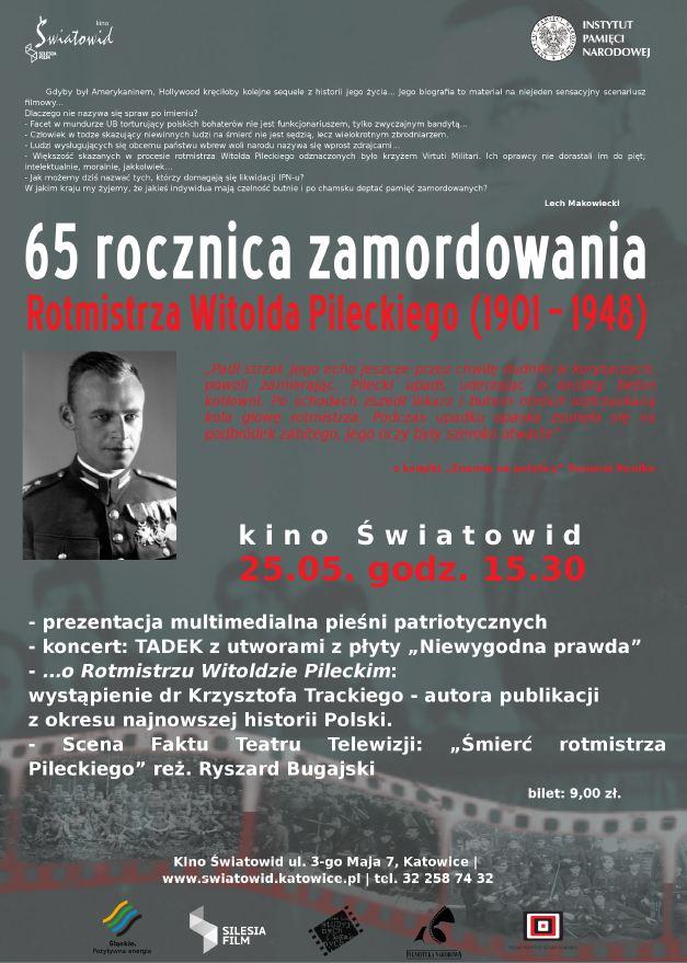 Plakat - Pilecki